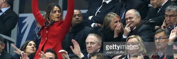 Salma Hayek «  Je ne supporte pas Rennes par obligation mais par plaisir  »